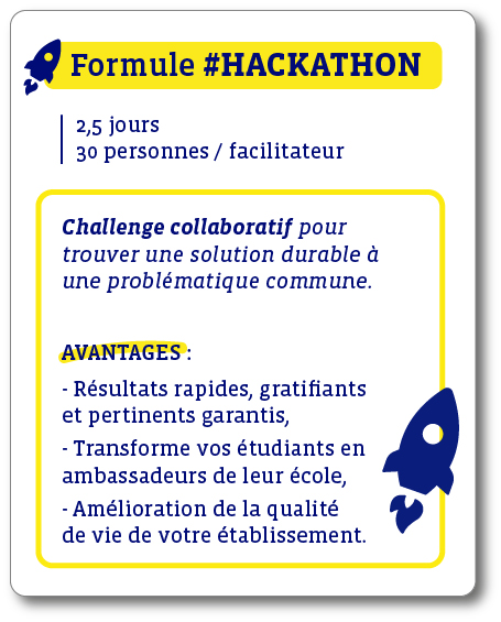 Offre école Hackathon